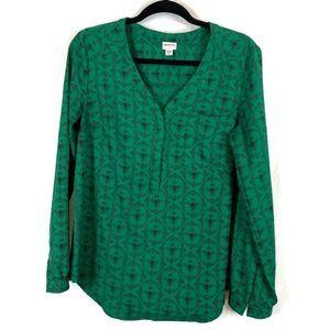 ⛵️ 3/$20 Bee print Merona blouse
